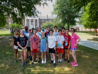 CPC Youth at Passport camp at Greensboro College in North Carolina, 13 July, 2017